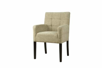Stoel/ fauteuil Nancy Bleekgroen