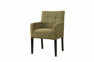 Stoel/fauteuil Nancy Loofgroen