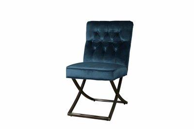 Stoel Bolton Groen/Blauw